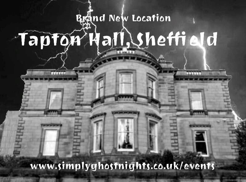 Ghost Hunting @ Tapton Hall, With Simply Ghost Nights