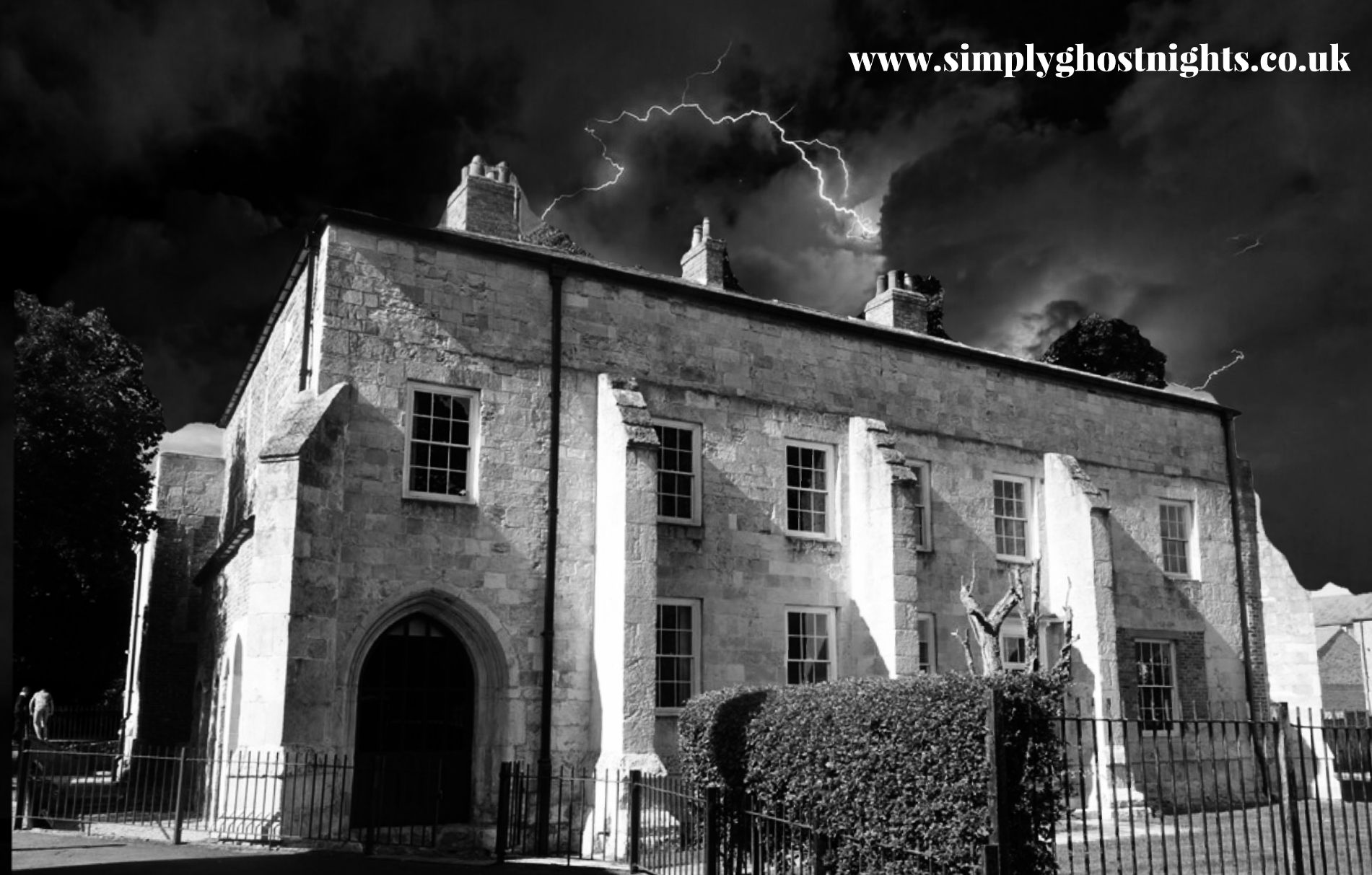 Ghost Hunt @ Bishop's Manor, With Simply Ghost Nights